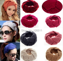New Hot Fashion Crochet Twist Knitted Headwrap Headband Winter Warmer Hair Band  head band