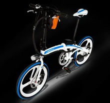 20 inches/lithium/foldable bicycle/Electricity move bicycle/36V/Aluminum alloy/whole wheel /Colorful personality/tb31115
