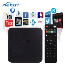 Buy PUERSIT JUNING Android TV Box Amlogic S805 RAM 1GB ROM 8GB 1080P Quad Core WIFI 600MHz HD Smart Set Top BOX Media Player PK X92 for $32.00 in AliExpress store