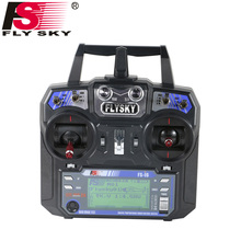 Flysky FS-i6 FS I6 2.4G 6ch RC Transmitter Controller FS-iA6 or FS-iA6B Receiver For RC Helicopter Plane Quadcopter Glider drone(China)
