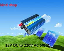 300W 12VDC 220VAC 50hz peak Power 600W Pure Sine Wave PV Inverter Off Grid Solar& Wind Power Inverter PV Inverter(China)