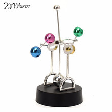 Kiwarm Modern Cosmos Perpetual Motion Kinetic Toy For Newton's Cradle Physics Science Desk Art Toy Office Decoration Gift