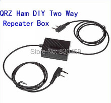two-way radio walkie talkie Repeater Box for 2 way radio baofeng uv-6r uv-b6 bf-f8 h777 tyt th-uv8000d(China)