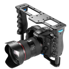 Neewer Aluminum Alloy Film Movie Making Camera Video Cage for Canon 5D/700D/600D/Nikon D7200/D7100/D7000/D5200/D5100/Sony A7/A7R(China)
