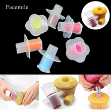 1PCS Cake Corer Plunger Pastry Decorating Cutter Model Tool Cake With Filling Flower Implement Cup Cake Remover Sandwich Tools