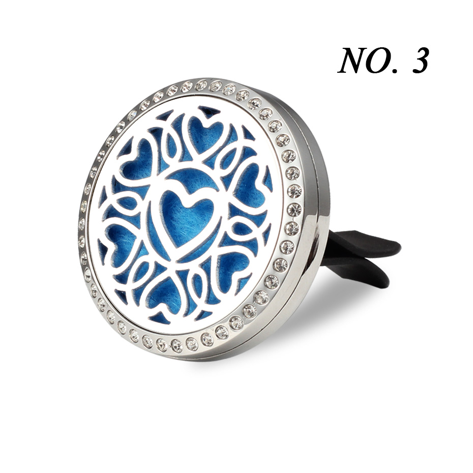 Car Air Freshener Auto outlet Perfume Vent Air freshener in the Car Air Conditioning Clip Magnet Diffuser Solid Perfume- 230