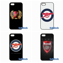 Arsenal Football Club Hard Phone Case Cover For Apple iPod Touch 4 5 6 iPhone 4 4S 5 5S 5C SE 6 6S Plus 4.7 5.5