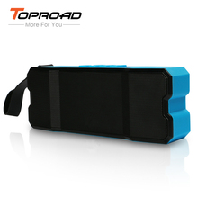 TOPROAD 10W Bluetooth Speaker Portable Waterproof Wireless Altavoz Hoparlor Subwoofer Boombox for iPhone Sumsung Xiaomi