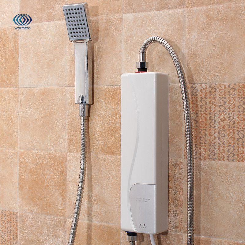 220V 3000W AU Plug Instant Electric Water Heater Indoor Bathroom Supplies Household Practical Double Shell Water Heating<br>