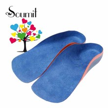 Soumit Children Orthopedic Insoles for Flat Foot Arch Support Shoes Pad Kids Health Care Orthotic Semelle Chaussure Shoe Insole(China)
