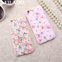 Hot Beautiful 3D Relief Flowers Daisy Soft Slim Coque Cover Case for Apple iPhone 5s 5 Phone Case Silicone Ultra thin Shell Capa