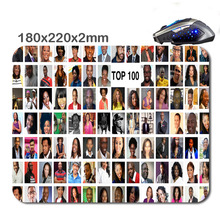 Figure puzzle 220mm*180mm*2mm DIY Customized Rectangle Non-Slip Rubber HD Fast Printing Gaming Rubber Durable Notebook Mouse Pad