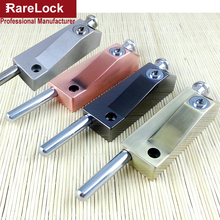 Rarelock Christmas Supplies Latch Sliding Revolving Door Lock for Hotel Office Bulding Security Furniture Hardware Bolt DIY