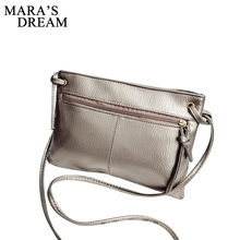 Mara's Dream 2018 Zipper Women Bag Soft PU Leather Women Messenger Bags Brand Designer Handbags Crossbody Ladies Shoulder Bags(China)