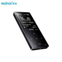 "Mahdi Bluetooth MP4 Music Player 1.8"" Touch Reproductor MP4 Support Recording E-book TF FM Clock with Speaker Armband Earphone(China)"