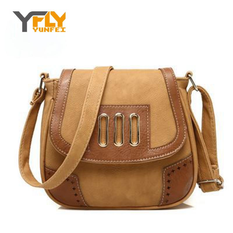 Y-FLY 2017 Brand Women Leather Handbags Hollow Out Shoulder Crossbody Bags For Women Messenger Bag Ladies Vintage Clutch DB5313<br><br>Aliexpress