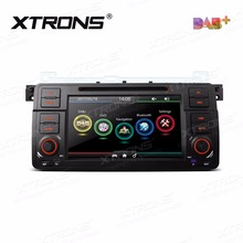XTRONS 7 inch Car DVD Player 2 din Radio DAB+Canbus GPS Navigation For BMW E46 / Rover 75 1999-2005 / MG ZT 2001 2002 2003- 2005