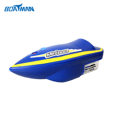 Buy MINI1B blue fish finder fishing boat rc fishing bait boat for $259.00 in AliExpress store