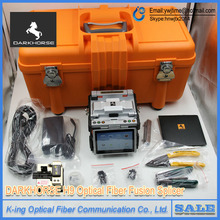 Darkhorse H9 Fiber Fusion Splicer Fiber Optic Splicing Machine H9 ARC Multi-function FTTH Fusion Splicer