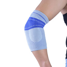 professional knitting elastic breathable volleyball elbow pads tennis  elbow support   arm sleeve  free shipping  #6801