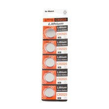 5x CR2025 CR 2025 DL2025 BR 2025 3 Volt Button Cell Battery 3V SCA-1682 Superior Storage Capacity Battery