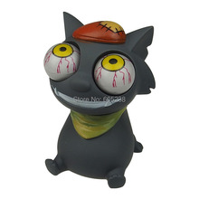 1Piece Pop Out Eyes Stress Reliever / Mad Cat Bulging Eyes Stress Balls