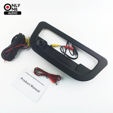 NEW Black Car Wide Angle Tailgate Cover Rear View Reverse Camera For Ford Ranger year of 2012 2013 2014 2015