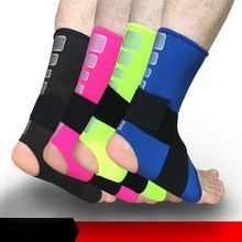 1PCS Ankle Bandage Elastic Brace Guard Support Sport Gym Foot Wrap Protection Sports Safety Ankle Support Strong