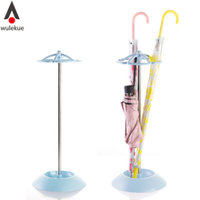 Wulekue Stainless Steel 5 Holes Umbrella Stand For Storage Rack Holder Shelf Draining Water Dry Umbrellas Hanger
