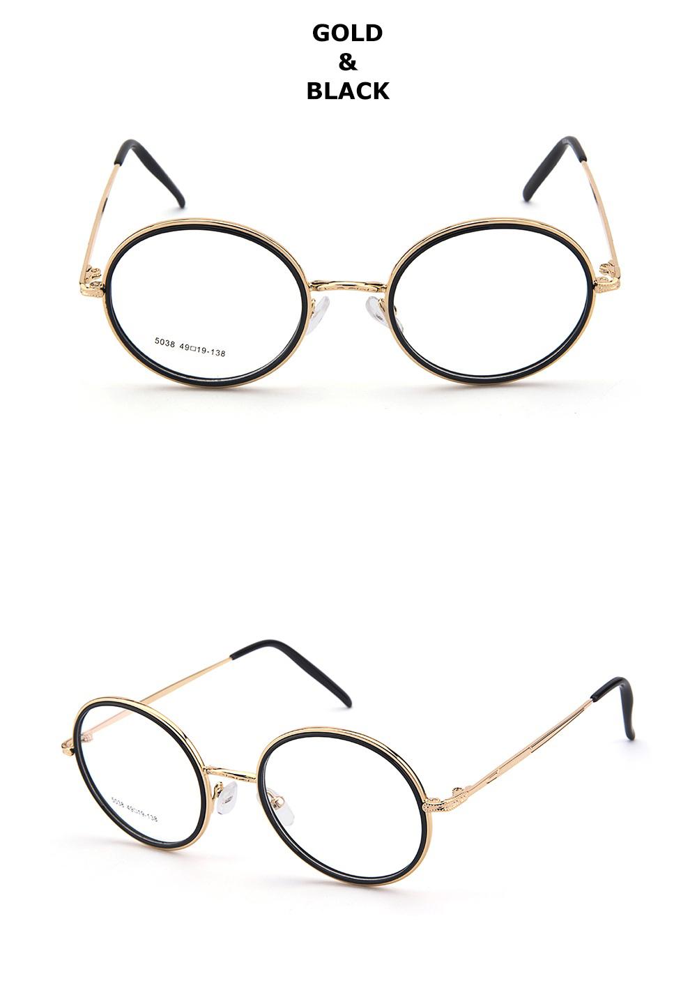 Compre Chashma Marca Retro Óculos Óculos De Armação Redonda Mulheres ... 3a505614c9