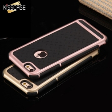 KISSCASE Case for iPhone SE 5S Case iPhone 7 7 Plus 6 6s Plus Silicone Hard PC Soft Rubber Paladin Series Cool Phone Bags Coque
