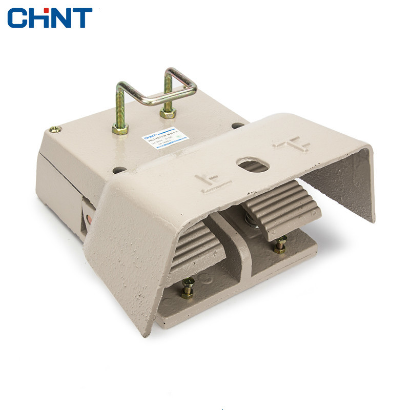 CHINT Foot Switch Lathe Punch Machine Tool Pedal YBLT-1/14 Pedal Switch Bring Protect Shield<br>