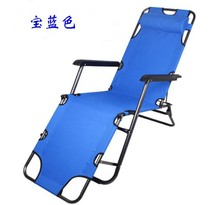 Manufacturers selling beach chair Folding leisure chair lounge dual-purpose balcony chair folding bed accompany lunch(China)