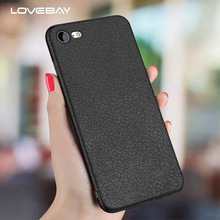 Buy Lovebay Phone Case iPhone X 8 7 6 6s Plus 5 5s SE Retro Litchi Texture PU Leather Slim Soft TPU Cover Case iPhone 8 Plus for $1.19 in AliExpress store