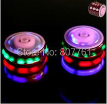 Best selling Hot LED Music beyblade metal fashion new mixed deliver SUPER GYRO Beyblade spin top toy 12 pcs/lot M106(China)