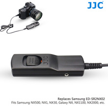 JJC Wire Remote Control Shutter Cord Release Cable for SAMSUNG NX500/NX200/NXF1/NX1/NX MINI/Galaxy NX Replace SAMSUNG SR2NX02