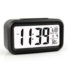 Modern Large-Display Digital Alarm Clock led with Calendar Electronic Desk Table Clocks