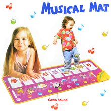 HY1333 Baby Musical Play Mat 100x36cm Big Size Music Tapetes Carpet Baby Toys Music Mat Kid Child Piano Music Product