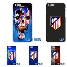 Club Atletico de Madrid S.A.D Logo Silicon Soft Phone Case For Samsung Galaxy S3 S4 S5 MINI S6 S7 edge S8 Plus Note 2 3 4 5(China)