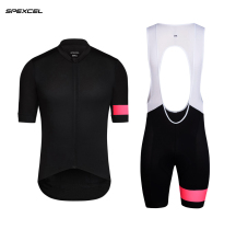 SPEXCEL 2017 NEW Black Pink Pro teaem SHORT SLEEVE CYCLING JERSEY Cool cycling wear Ropa Ciclismo road bike clothes best quality(China)