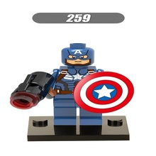 Buy 20Pcs Super Heroes Captain America Winter Soldier Iron Man Hulk Bricks Building Blocks Collection Toys children XH 259 for $13.65 in AliExpress store