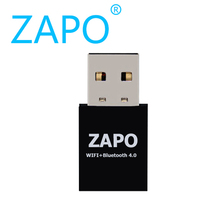 ZAPO Mini usb 150Mbps WIFI adapter + Bluetooth 4.0 802.11n/g/b wireless Network card wi-fi receiver dongle Ethernet LAN adaptor(China)