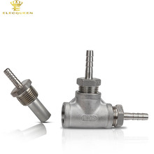 "Stainless Steel Inline Aeration/Oxygenation Diffusion Stone 2 Micron - 1/2"" MPT for Homebrew(China)"