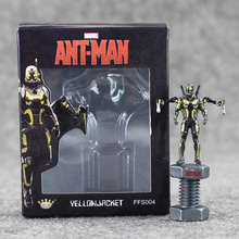 The Super Hero Ant-Man Ant Man Hank Pym Wasp PVC 6.5cm Action Figure Fan Collection Model Toys For Boys Gift