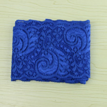 5 yards blue elastic lace 9cm, DIY garment accessories, sewing Swiss decoration, lace material