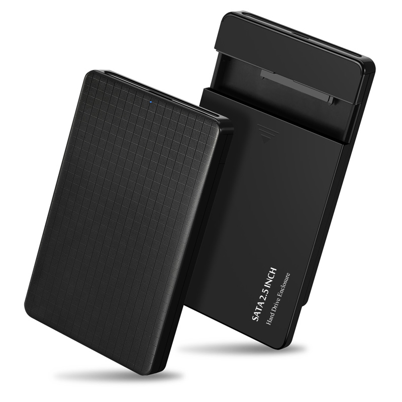 2.5 Inch Hard Drive Enclosure SATA HDD//SSD Caddy Case To USB 3.0 ForXP//Win7//Win8