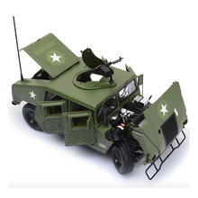 1:18 alloy Wholesale car model four door open mustang children's toy car metal models Off-road military battlefield car model(China)