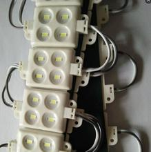 LED module injection 5730 4leds ABS plastic IP65 DC12V 3M adhesive back For Blister luminous words logo signs +1000 pcs(China)