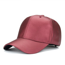 Trendy Fashion Hot Unisex Man Woman Cool High Quality PU Leather Adjustable Outdoor Sun-proof Snapback Hat Baseball Cap(China)