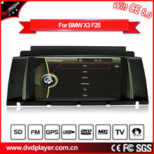 CAR dvd player for BMW X3 F25 with GPS navigation 3G Internet or wifi connection truck gps auto  carplayer Hualingan